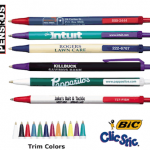 imprinted bic clic stic pens