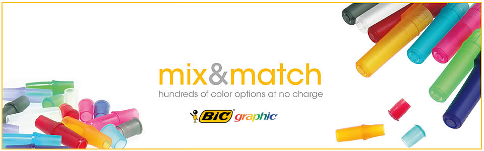 BIC is the choice for color